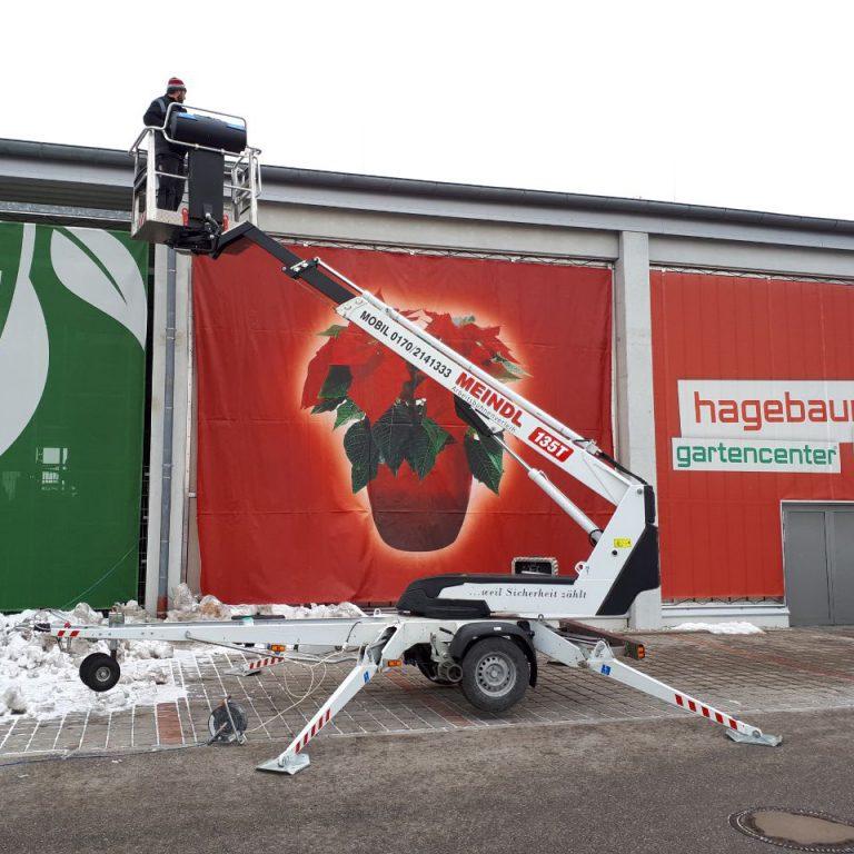 Arbeitsbühne Hematec Dinolift Dino 135T
